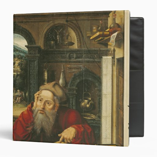 St. Jerome in his Study Binders