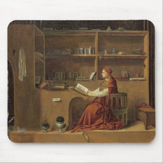 St. Jerome in his study, c.1475 2 Mouse Pad