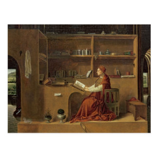St. Jerome in his study, c.1475 2 Postcard