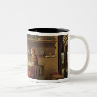 St. Jerome in his study, c.1475 2 Two-Tone Coffee Mug