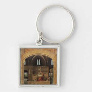 St. Jerome in his study, c.1475 Keychain