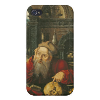 St. Jerome in his Study iPhone 4/4S Case