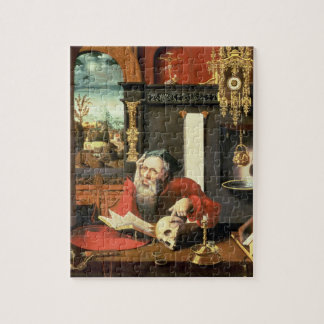 St. Jerome in his Study Jigsaw Puzzle