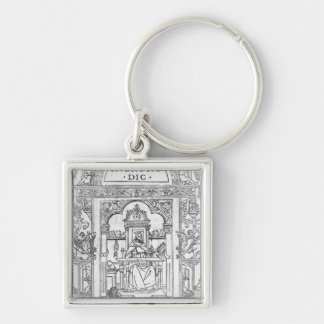 St Jerome in his Study Key Chains