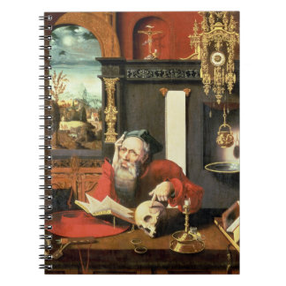 St. Jerome in his Study Notebook