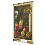 St. Jerome in his Study Stretched Canvas Prints