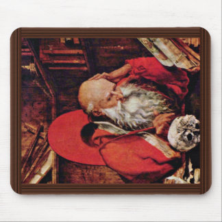 St. Jerome In The Cell By Marinus Claesz. Van Reym Mousepads