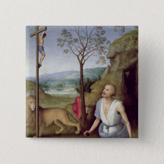 St. Jerome in the Desert, c.1499-1502 Button