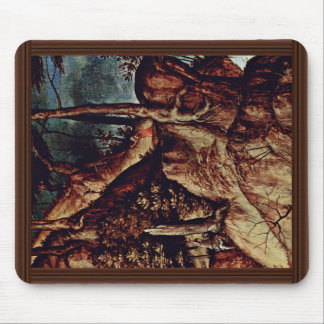 St. Jerome In The Desert Detail By Lotto Lorenzo ( Mousepad