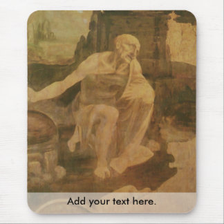 St. Jerome in the Wilderness Mouse Pad