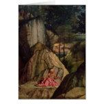 St. Jerome Meditating in the Desert, 1506 Cards