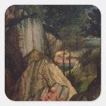 St. Jerome Meditating in the Desert, 1506 Sticker