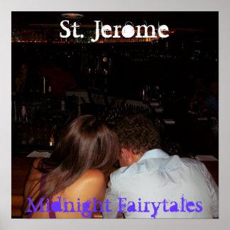 St. Jerome - Midnight Fairytares Poster