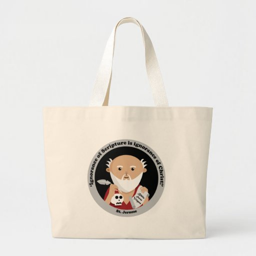 St. Jerome Tote Bags