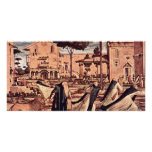 St. Jerome With The Lion In The Monastery By Carpa Photo Card