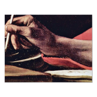 St. Jerome, Writing Detailed By Michelangelo Meris Personalized Announcements