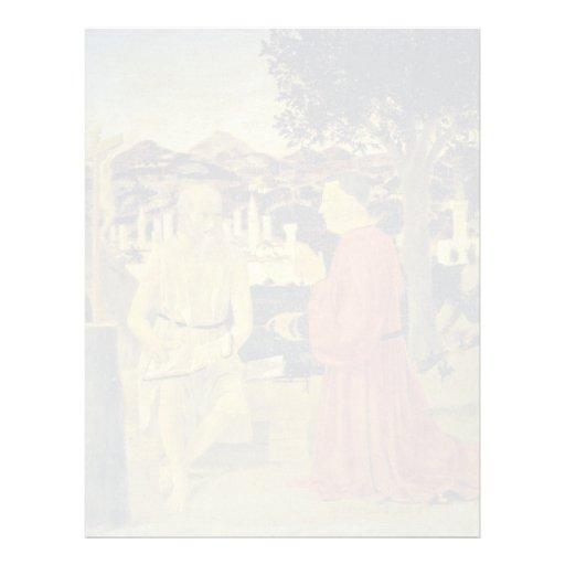 St Jerome, y un fundador de Piero della Francesca Membretes Personalizados