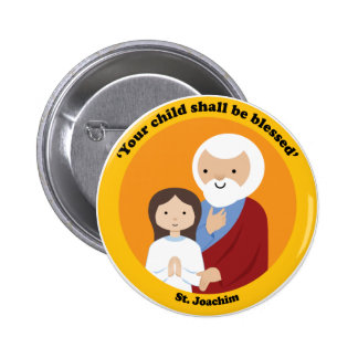 St. Joachim 2 Inch Round Button