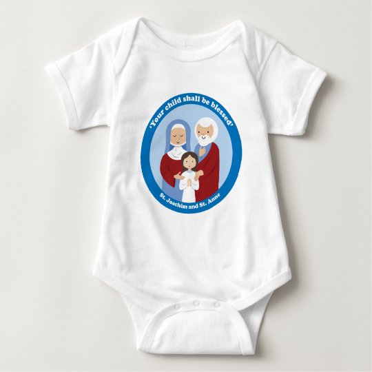 St. Joachim and St. Anne Baby Bodysuit