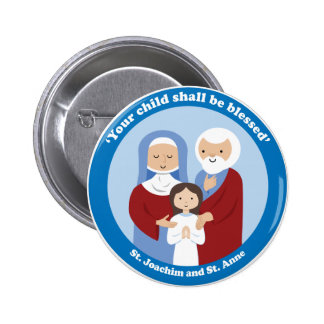 St. Joachim and St. Anne Button