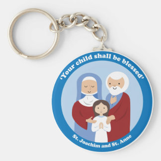 St. Joachim and St. Anne Keychain