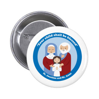 St. Joachim and St. Anne Pinback Button