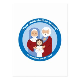 St. Joachim and St. Anne Postcard