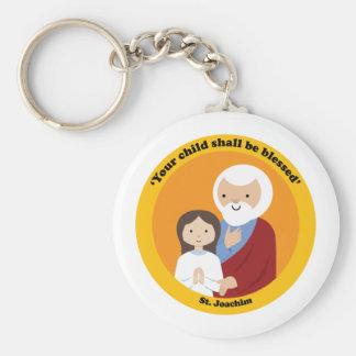 St. Joachim Basic Round Button Keychain
