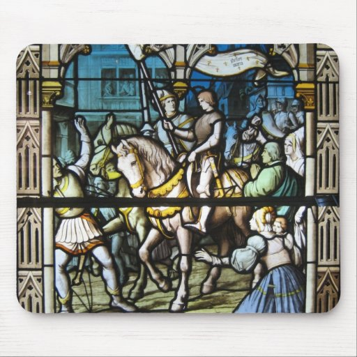St. Joan at Orleans Mouse Mat