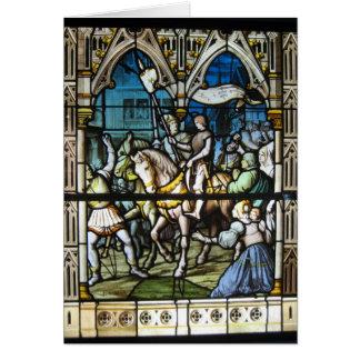 St. Joan en Orleans Tarjeta De Felicitación