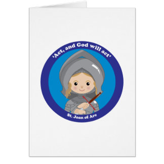 St. Joan of Arc Greeting Cards