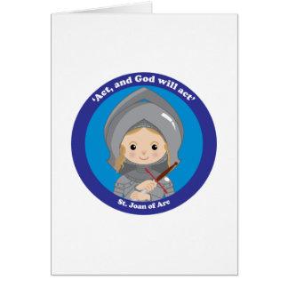 St. Joan of Arc Card