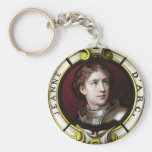 St. Joan of Arc Keychains