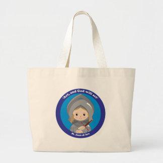 St. Joan of Arc Large Tote Bag