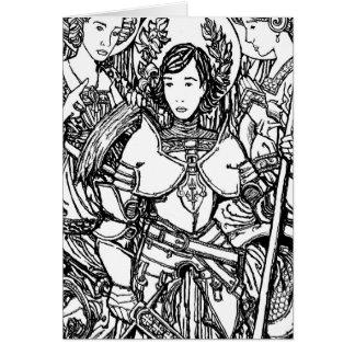 St. Joan of Arc Notecard