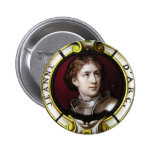 St. Joan of Arc Pinback Buttons