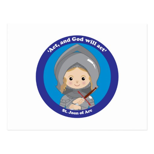 St. Joan of Arc Postcard