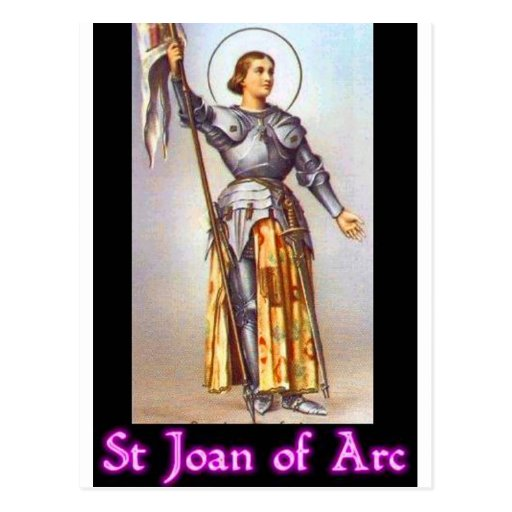 St. Joan of Arc Postcards