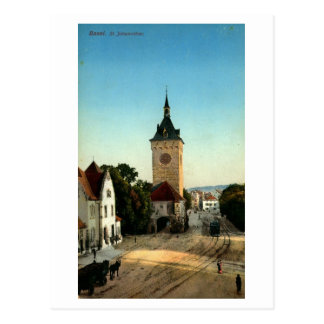 St. Johannthor Basel Switzerland Vintage Postcard