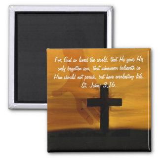 St. John 3,16. Magnet