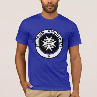 St John Ambulance Brigade Retro 1888 Logo T-Shirt