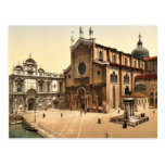 St. John and St. Paul Church, Venice, Italy classi Postcard