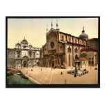 St. John and St. Paul Church, Venice, Italy classi Post Card