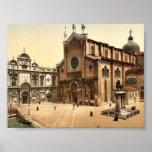 St. John and St. Paul Church, Venice, Italy classi Print