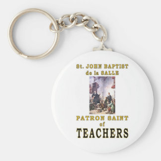 ST. JOHN BAPTIST de la SALLE Basic Round Button Keychain