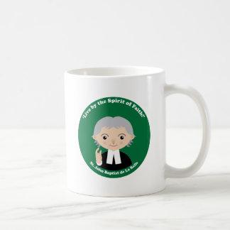 St. John Baptist de La Salle Classic White Coffee Mug