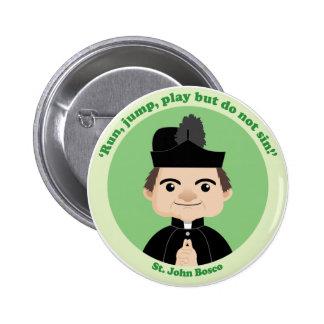 St. John Bosco 2 Inch Round Button