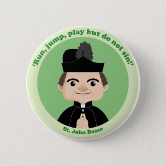 St. John Bosco Button