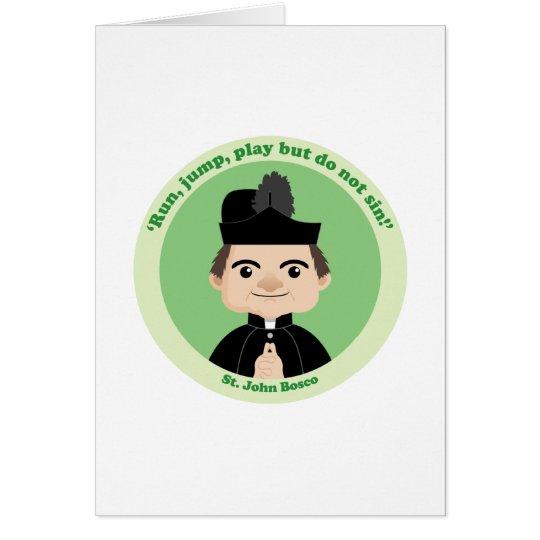 St. John Bosco Card