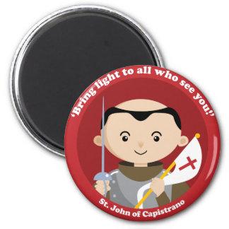 St. John Capistrano Imán Redondo 5 Cm
